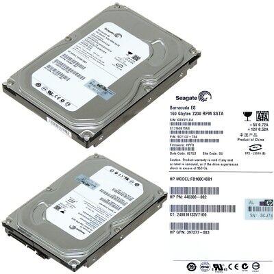 GB0160CAABV HP 160GB 1 7.2K SATA HARD DRIVE
