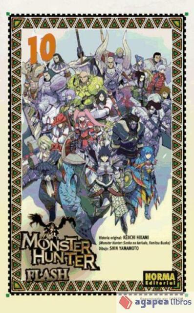 Monster Hunters Flash 10. NUEVO. ENVÍO URGENTE (Librería Agapea)