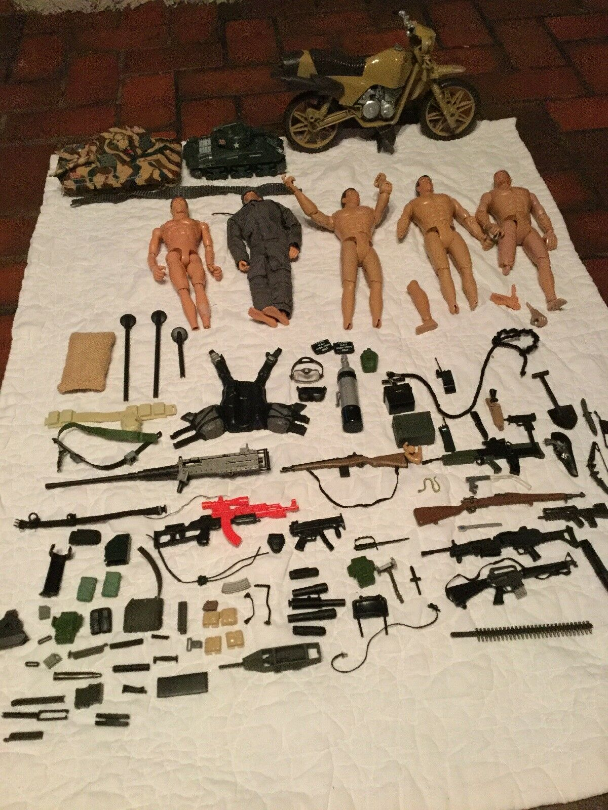 MASSIVE Vintage Army Toy 21st Century Toys WWII Mixed LOT