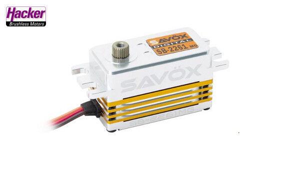Savöx Brushless Servo  SB-2261MG auto modellolololo 1 10 1 8  supporto al dettaglio all'ingrosso