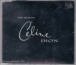 MAXI-CD-CELINE-DION-COLLECTOR-1T-THE-REASON-NEUF-SCELLE