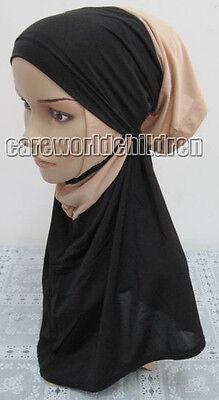 Beautiful 2 Piece Amira Hijab Muslim Hijab Islamic Scarf New Style