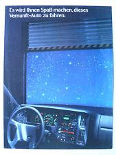 Prospekt Volvo 440 (440 GL - Turbo)  zur Premiere, 1988, 8 Seiten