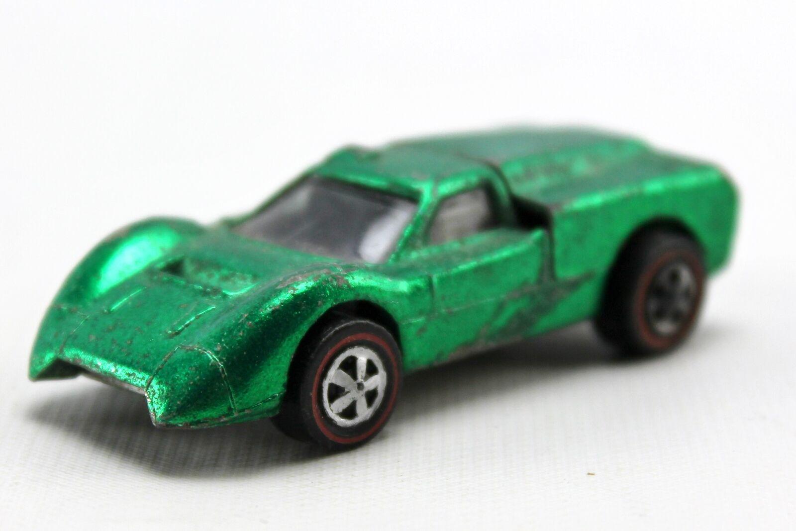 1967 Ford J -Bil grön heta hjul USA tärningskast 1 64