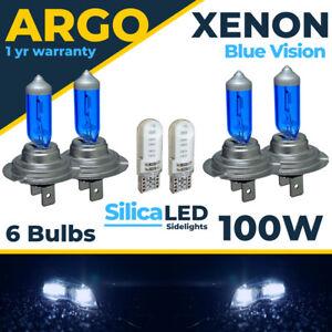 For VW Golf MK5 Headlight High Low Xenon Ice Blue 2003-09 Led Side Light Bulbs