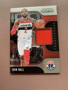 2019-20-Panini-Prizm-Basketball-John-Wall-Patch-Card