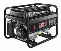 Briggs & Stratton Powerboss 30628 2500w Run, 3500w Start Portable Gas Generator on sale