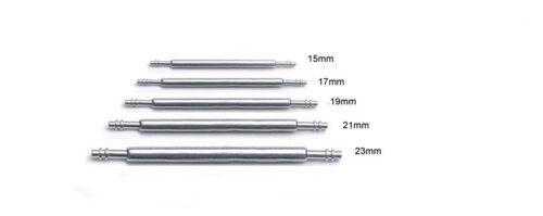 17mm 19mm 21mm 2x FEDERSTEGE  Ø 1,5 mm für von 15mm 23mm