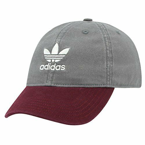 e97d9deac983a Buy adidas Men Originals Relaxed Washed Dark Denim Strapback Hat   Cap  Trefoil online
