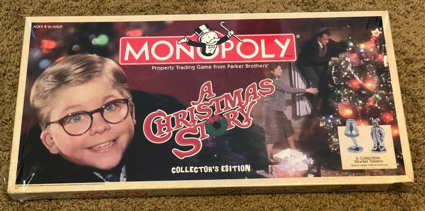 Monopoly A Christmas Story Collector's Edition 2007 Brand New Sealed