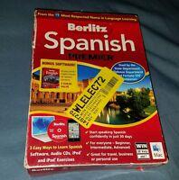 Berlitz Spanish Premier, Win And Mac Software