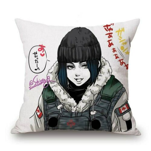 18 inch Tom Clancy/'s Rainbow Six House Decorative Pillow Cases  Pillow Cover