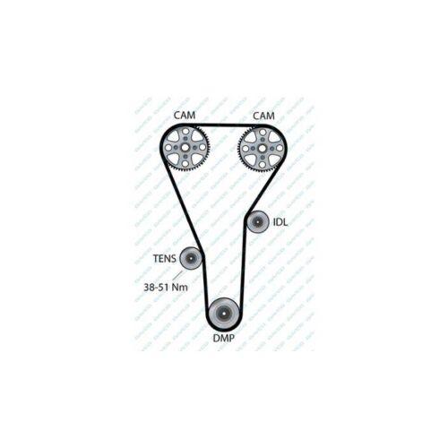 DAYCO 94854 Courroie de distribution pour MAZDA 626 V Hatchback 626 IV Hatchback 626 IV
