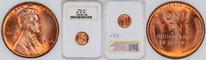 1946-Lincoln-Wheat-Cent-1C-NGC-MS67-RD-Red-Old-Fat-Holder-Top-Pop-None-Higher
