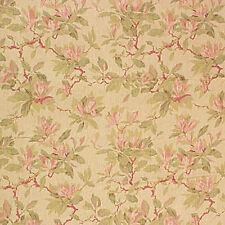 Laura Ashley LA1276 BONNYBROOK 27 TEAROSE Home Decor Floral Linen Drapery Fabric