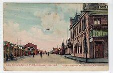 KING EDWARD STREET, POTCHEFSTROOM, TRANSVAAL: South Africa postcard (C11948)
