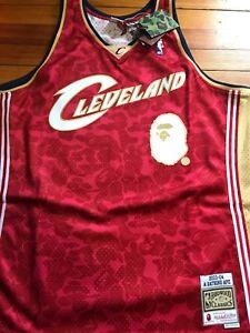 092e14d313d A Bathing Ape Bape X Mitchell & Ness Chicago Bulls Swingman Jersey ...