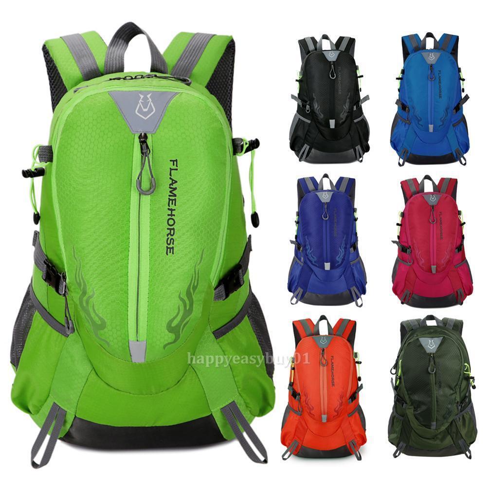 Waterproof Outdoor Sports Shoulder Bag Travel Nylon Backpack Hiking Ca... - s l1600