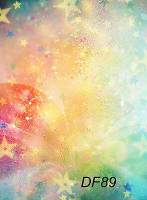 Studio Backdrop Photography Prop Stars Photo Background 5x7FT Thin Vinyl DF89