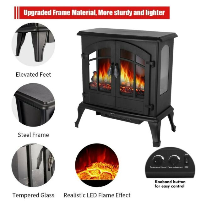 Harper Amp Bright Designs Electric Fireplace Stove Heater