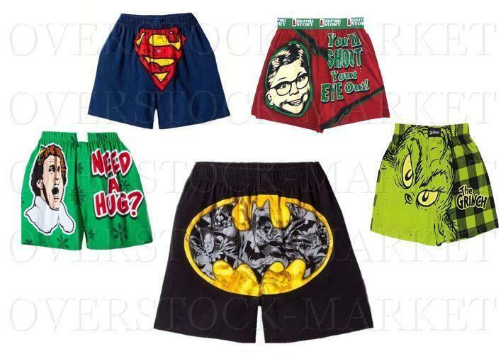 ! nuevo! Boxers para hombre carácter popular! 100% algodón! Variedad De Tamaños, colores, estilos