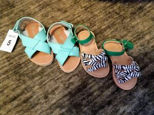 Baby Girls Toddler Cherokee Sandals Dress Infant Animal Print New Strappy Shoes