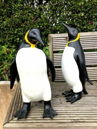 Garden ornament  penguins Large resin penguin set garden or home decoration