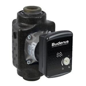 BUDERUS-Logafix-Heizungspumpe-BUE-Plus-1-4-V3-25-40-130-mm-Hocheff-Umwaelzpumpe