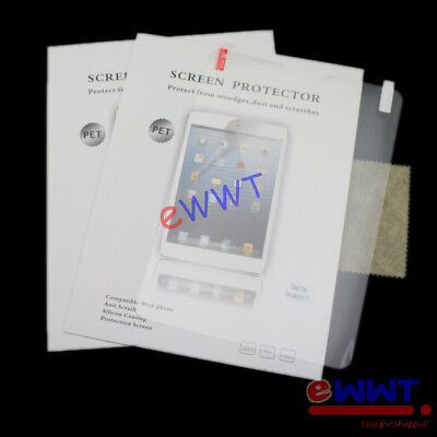 2x for Asus ME302c Memo Pad FHD 10 Clear LCD Screen Protector Film Guard ZVSP800