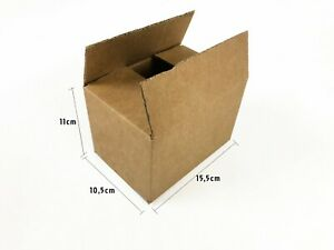20-Cajas-carton-15-5x10-5x11cm-Resistentes-Mudanza-envio-embalaje-almacen