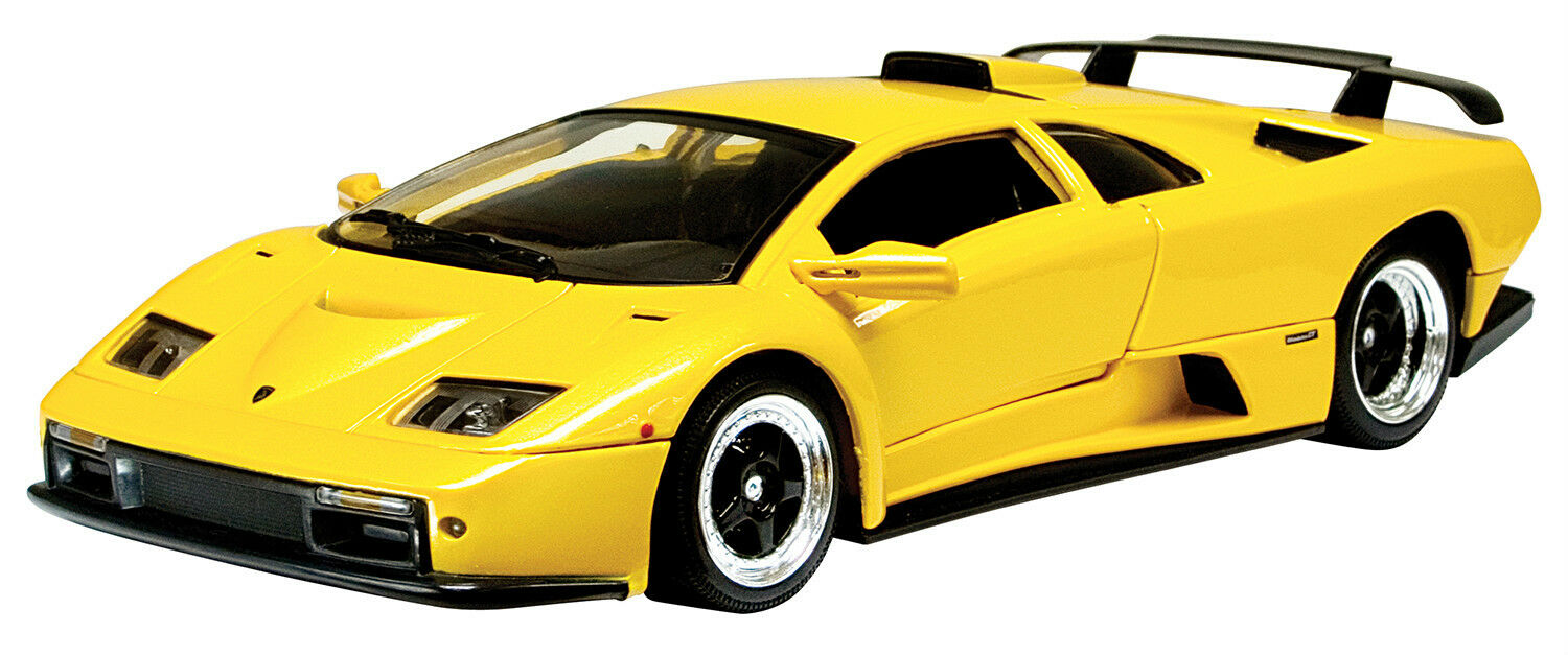 New Motormax - Lamborghini Diablo GT Metallic Yellow 1:18 -73168