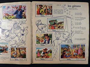 Télé-chansons de France Album collecteur de vignettes chocolat Poulain TBE