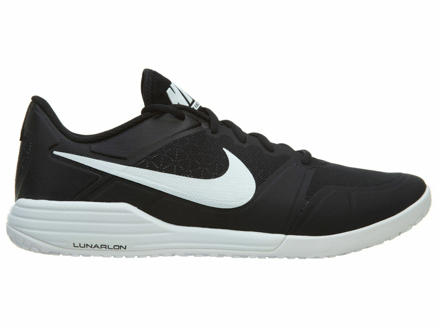 Nike Lunar Ultimate Tr Black Black Black White Men's Running Trainers shoes UK 9_9.5 f0dacc