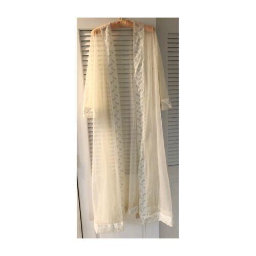 Miss Elaine vintage lingerie robe, S