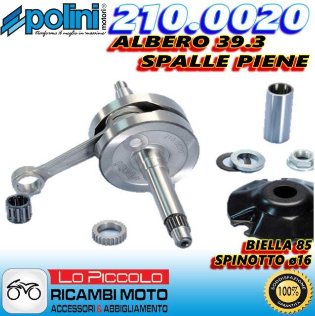 210.0020 ALBERO MOTORE POLINI BIELLA 85 DERBI GP1 50 2001-2003