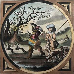 Van-of-Venne-per-Jacob-Cats-1577-1680-Drum-Chasse-Hare-1655-Music