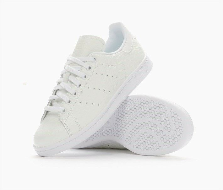 RARE ADIDAS ORIGINALS STAN SMITH COLOUR CHANGE WOMENS TRAINERS  WHITE   GREEN