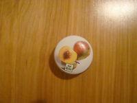 Yves Rocher Peche Parfum Creme Peach Soild Cream Perfume France Tin Authentic