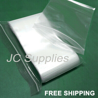 2 Mil Quality Reclosable Ziplock Plastic Seal-Top Bags 3x6 100 Small 3/'/'x 6/'/'