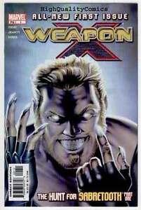 WEAPON-X-1-NM-Sabretooth-X-Men-Wolverine-2002-more-indies-in-store