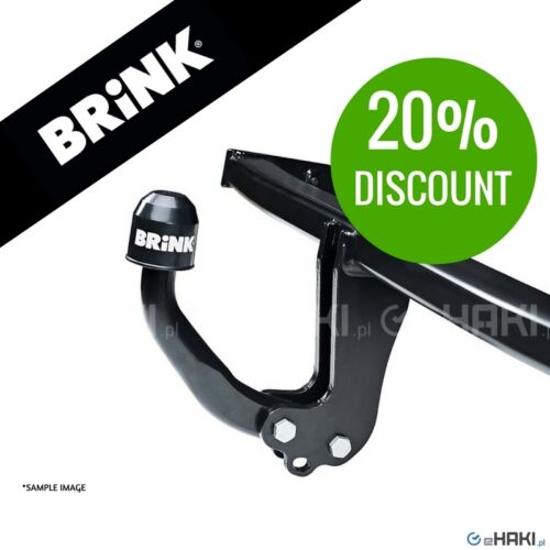 1T3 2010-2015 Towbar Brink fixed swan neck VW Touran