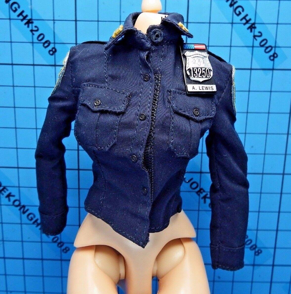 Dam Toys 1 6 GKS003 Gangsters Kingdom Officer A. Lewis Figure - Shirt + Badge