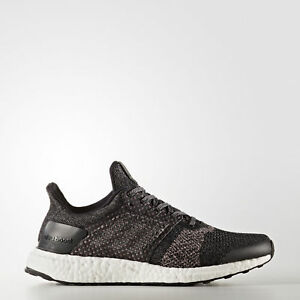 Adidas Ultraboost ST W [S80621] Women Running Shoes Black/Grey-Pink