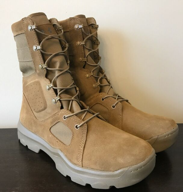 323f9625fd5 Under Armour Men's FNP Tactical Military Boots Coyote Brown Size 13  1287352-728