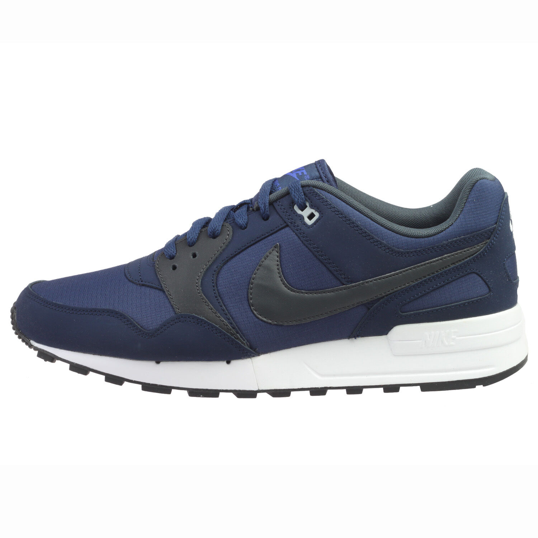 Nike Air Pegasus 89 Mens 344082-413 Binary Blue Grey Running Shoes Comfortable