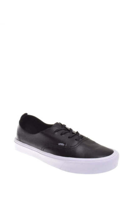 3a424786d388b1 Frequently bought together. Vans Authentic Decon Leather Black Women s  Classic Skate Shoes ...