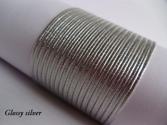 10 metres - Soutache Russia Braid Cord Trim 100% viscose 3mm from Czech Republic