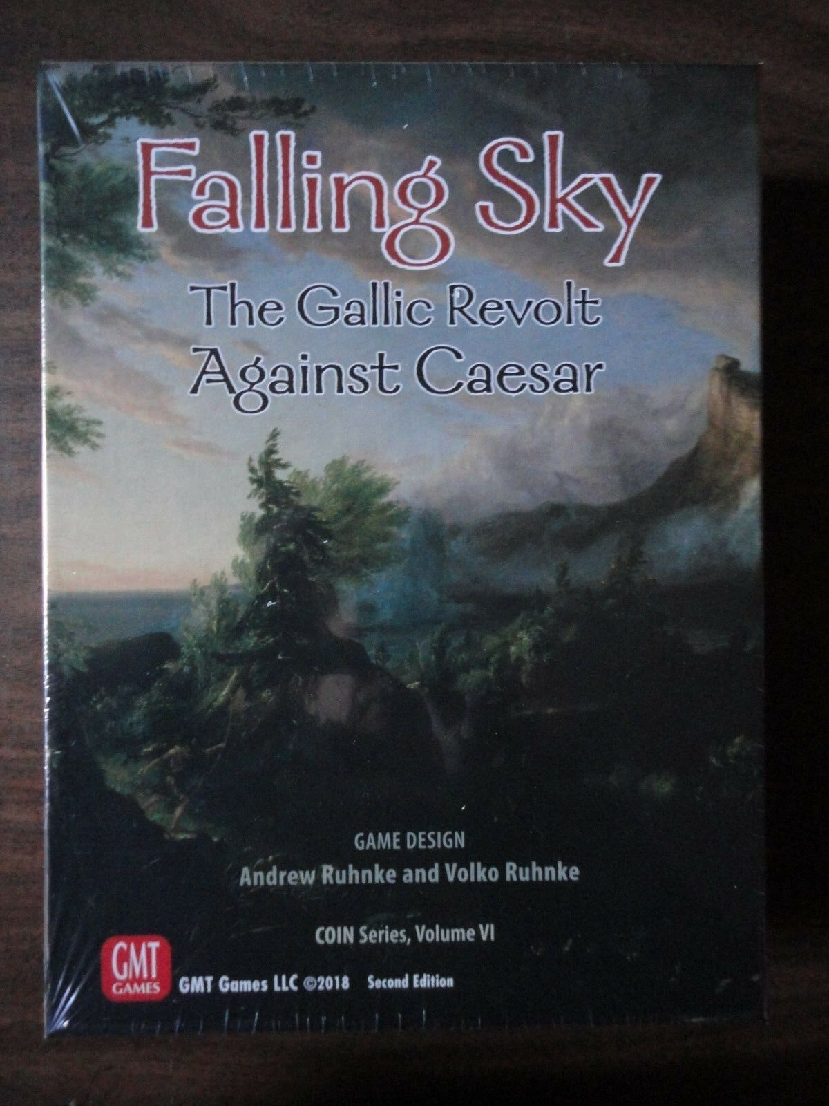 Falling Sky by GMT Games COIN Series Volume VI 2018 2nd Printing mint in shrink