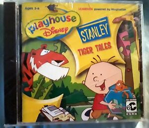 Details about NEW Playhouse Disney Stanley Tiger Tales CD Rom Learning Game  Windows for PC MAC