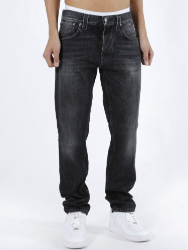 W32 L34 Nudie Mens Regular Tapered Fit JeansSteady Eddie Fade To Grey
